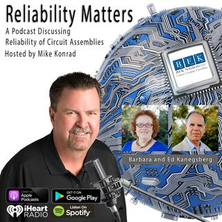 """Episode 34: A Conversation with """"The Cleaning Lady and the Rocket Scientist"""" Barbara and Ed Kanegsberg"""
