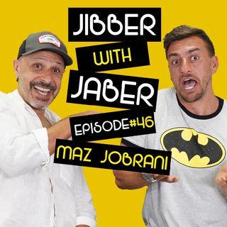 Ep 46 | Maz Jobrani | Strip Club Comedy | Jibber with Jaber