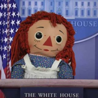 Episode 679: VIDEO TIME MACHINE JEN PSAKI ALIAS RAGGEDY ANN CHIEF PROPAGANDIST OF THE BIDEN REGIME SAYS WE ARE TURNING FAMILIES AND ADULTS A