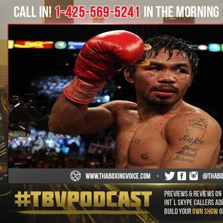 ☎️Manny Pacquiao's Win Proves That He's Using P.E.D's According To His Critics😱