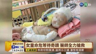 16:39 【台語新聞】一歲女童疑遭虐昏迷 母考慮拔管 ( 2019-06-26 )