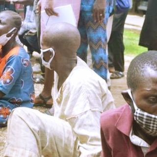 Breaking: Police Parade Suspected Kidnappers of Akeugbagold's Twins in Ibadan, Nigeria. - May 18, 2020