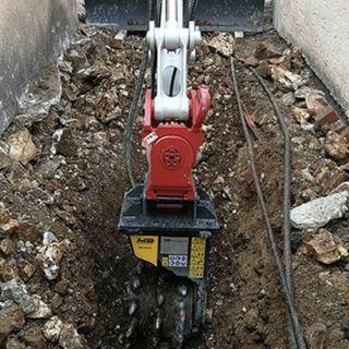Ascolta la news sulla fresa MB-R500 di MB Crusher al lavoro in Croazia in spazi angusti