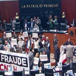 Rechaza Senado, última votación para titular de la CNDH
