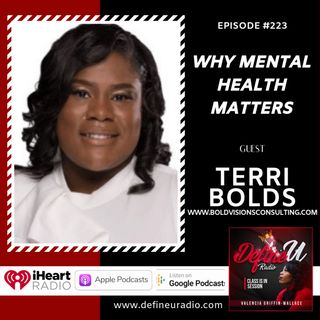 DUR 223 | Why Mental Health Matters with Terri Bolds