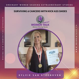 How I Survived Cancer 8 Times Wearing, Kick Ass Shoes ~ Sylvie van Steenoven