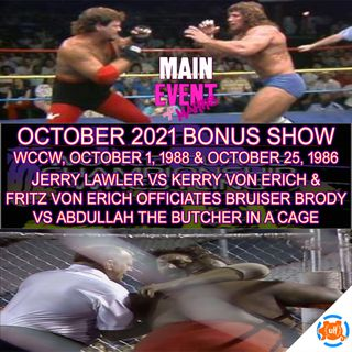 BONUS: WCCW in 1986 and 1988