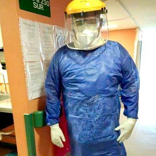 Eri un Héroe, que Salva Vidas  (Enfermero, COVID-19 Coronavirus)
