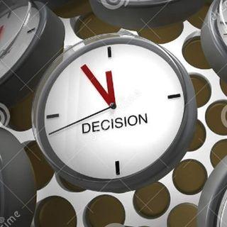 Tiempo para decidir.
