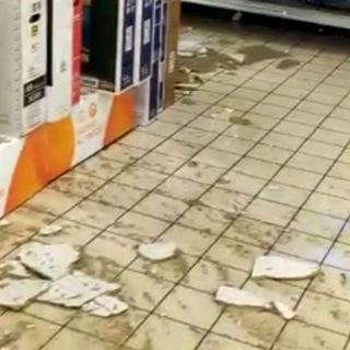 Maltempo di ieri: acqua e danni all'Unieuro di Thiene – VIDEO