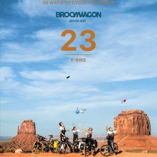 #5 Susanne Bruesch @pedelecadventures – 50 Ways on the BroomWagon