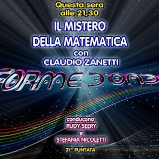 Forme d'Onda - Claudio Zanetti - Il Mistero della Matematica - 30-05-2019