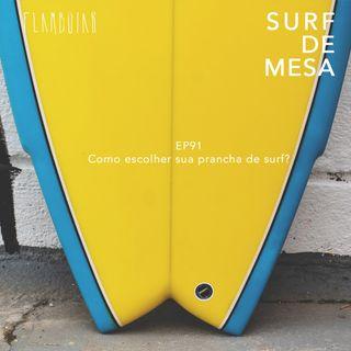 91 - Como escolher sua prancha de surf?