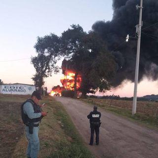 Explota toma clandestina en Tetepango, Hidalgo