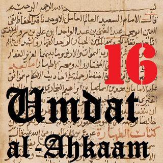 UA16 Tayammum (Using the Ground for Purification) Part 1