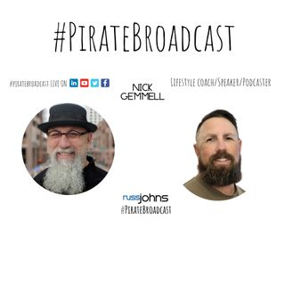 Catch Nick Gemmell on the #PirateBroadcast