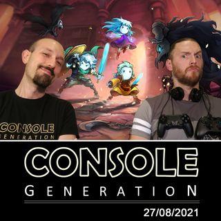 Gamescom 2021 e Greak: Memories of Azur - CG Live 27/08/2021