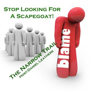 Stop Looking For A Scapegoat