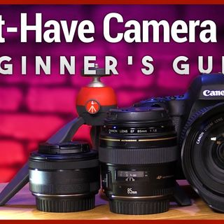 Hands-On Tech: Must-Have Camera Gear for Photography Beginners
