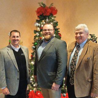 Mark Boggs with Milton Martin Honda,  Dr. Carroll Turner with Brenau University, Beau Henderson with North Georgia Business RadioX