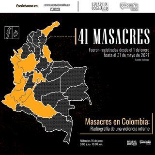 Masacres en Colombia: radiografía de una violencia infame