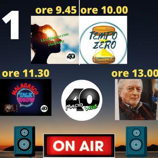 """Radio 40 """" Forty Morning """" Venerdì Mattina 19/02/2021"""