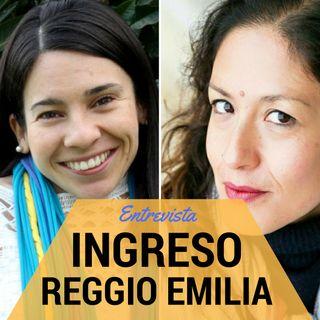 Ingreso a los centros Reggio Emilia