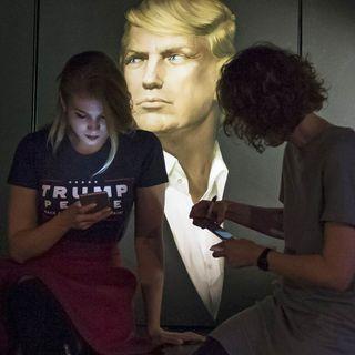 Breaking News Trump SOS Announcement - Fake Russian Hacker - MSMBS
