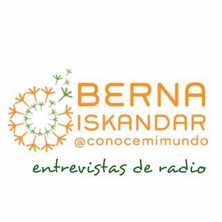 Entrevista a Berna Iskandar en Blu Radio Bogotá