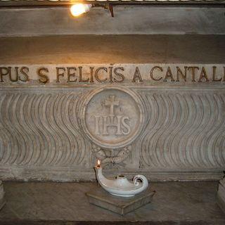 37 - I ricordi di san Felice da Cantalice alla Chiesa dei Cappuccini in Via Veneto