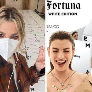 """Emma Marrone: il suo album """"Fortuna"""" diventa bianco"""