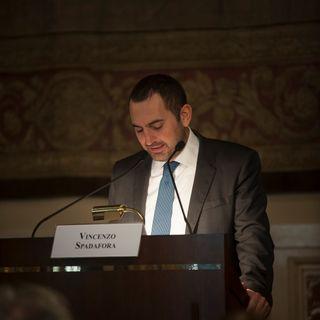 Roma-Presentazione Dossier Indifesa  Intervista al Ministro dello Sport e della Gioventù Vincenzo Spadafora