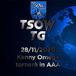 TSOW TG 28/11/20 - Kenny Omega tornerà in AAA