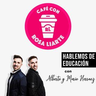 """9 - Alberto y Mario Herraez (Etwinz) - """"La tecnología no hace la pedagogía"""""""