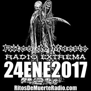 Ritos De Muerte Radio Show 24ENE2017