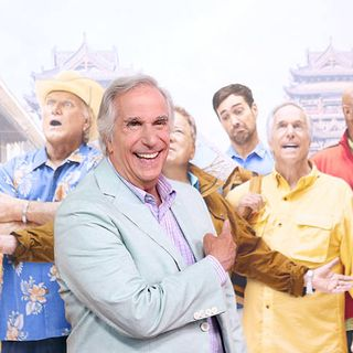 Henry Winkler From Better Late Than Never On NBC