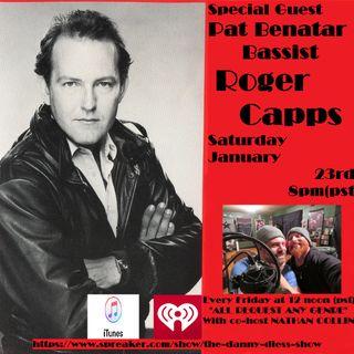 Pat Benatar Bassist Roger Capps 1/23/21