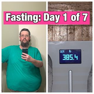 Episode 125 - Day 1 Of My 7 Day Fast