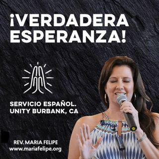 [CHARLA] ¡Verdadera Esperanza! - UCDM - Maria Felipe