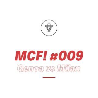 MCF! 009 - Genoa vs Milan