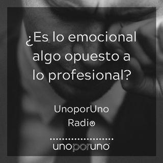 ¿Es lo emocional algo opuesto a lo profesional?