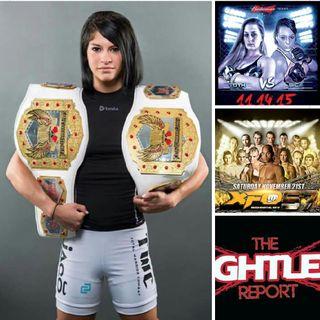Fightlete Report Radio November 3rd