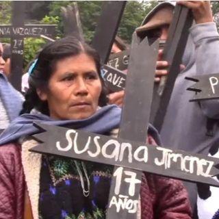 Contempla 20 acciones el acuerdo de solución entre el gobierno y las victimas de Acteal