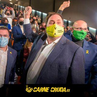 """Carne Cruda - Junqueras: """"El PSC defiende una monarquía corrupta"""" (+ DEFORME SEMANAL #813)"""