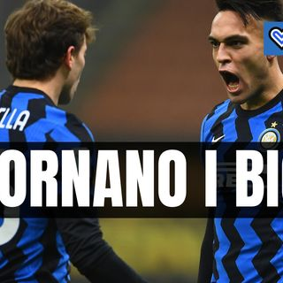 Inter, Inzaghi può sorridere: riecco Lautaro, Barella e Bastoni!