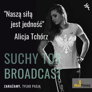 Alicja Tchórz Mistrzyni o wielu talentach  w Suchy Tor Broadcast #11