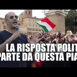 Francesco Toscano La risposta politica contro il regime parte da questa piazza