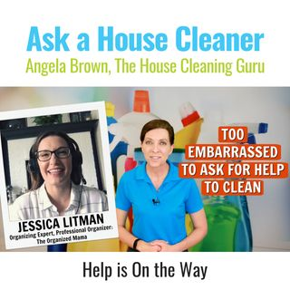 Too Embarrassed to Ask for Help with Jessica Litman, The Organized Mama