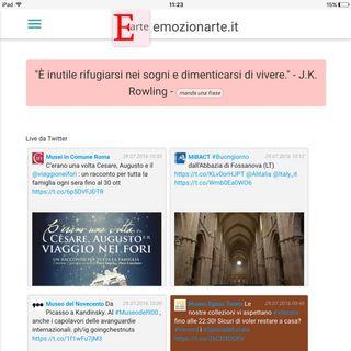 Musei italiani: mappe e novita su emozionarte.it