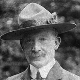 Robert Baden-Powell, Pfadfinder-Gründer (Todestag 8.1.1941)